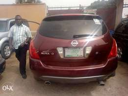 Registered 2005 Nissan murano for sale
