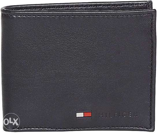 tommy hilfiger wallet black imported from usa original stockolm