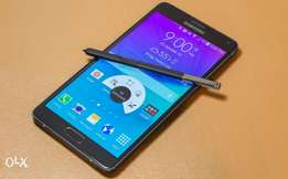 Quick sale for Samsung galaxy Note 4 (pink in color)