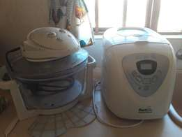 Fast Bake Bread Maker and Turbowave Oven