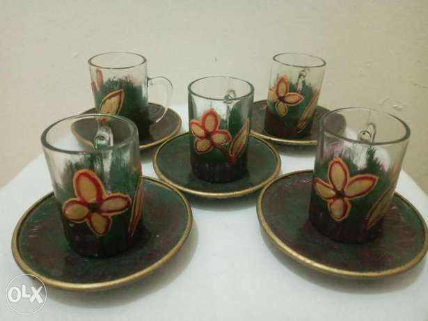 Hand Crafted/Painted Vintage Tea Cups.
