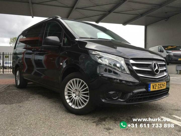 Mercedes-Benz Vito 114 CDI Lang DC Dubbel Cabine LED/Climate/C - 2016
