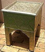 Imported Moroccan Small table with drawer