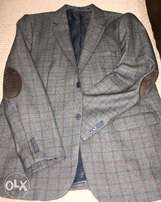 Two Piece Suit - HUGO BOSS -Grey Stripped