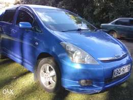 Toyota Wish for sale.