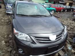 Newly arrived 2012 Toyota corolla for sale.