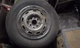 Five Used Tyres For sale - 175 X 14