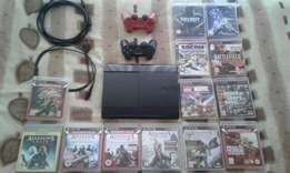 Ps3 + 2 controllers + 13 games