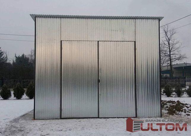 Super Magazyn blaszany garaż wiata na maszyny rolnicze budowlane Chełm FI69