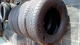 Crosscontact continental 4 X 255/70/16 Tyres for sell