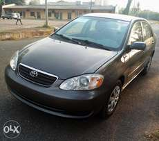 A CHEAP Tokunbo 2007 Ditect Toyota Corolla for sales