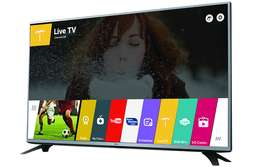 advance webos browsing of the LG 43 smart satellite tv