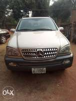 Clean Nigerian used Mercedes Benz ml 500