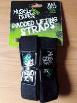 Bargain!! Muscle Junkie Padded Lifting Straps