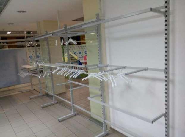 Розпродаємо торгове обладнання (стелажі та стійки) під одяг або взуття Киев  - изображение 7 d49eec47e9fd5