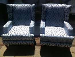 Deluxe Wingback Chair