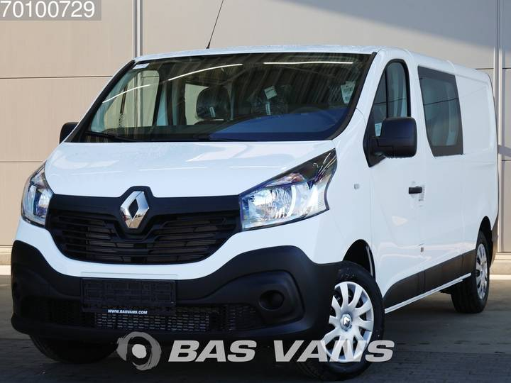 Renault Trafic 1.6 dCi 120PK 3.0T Dubbel cabine Airco Cruise cont... - 2019