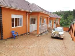 2bedrooms 1toilet luxurious semidetached house in Mengo kampala