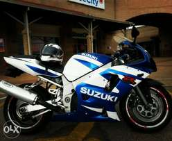 Suzuki GSXR 600 K3 to swap for a Bakkie