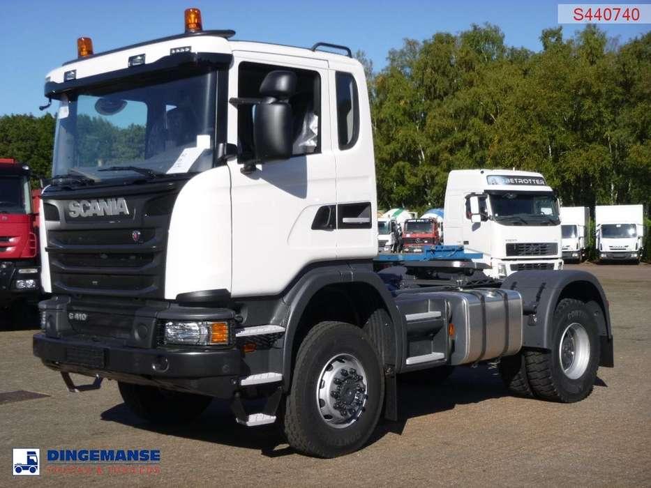 Scania G410 4X4 manual Euro 6 PTO / NEW/unused