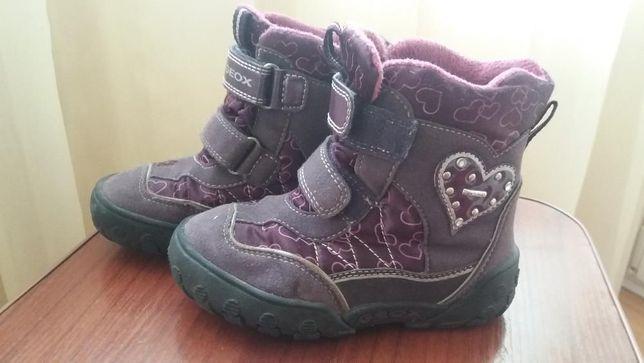 6f037fc33 Термо ботинки Geox весна - осень размер 26 для девочки Киев - изображение 1