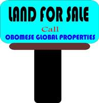 FOR SALE 22 plots of land with C of O at Stadium Road
