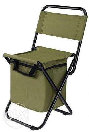 Brand New Folding Chair with Thermal Bag