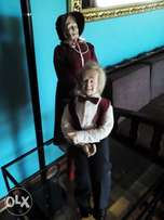 Grand parents porcelain dolls for sale