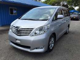 toyota alphard 2008 model