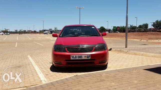 toyota runx for sale R22000
