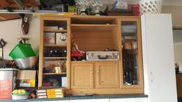 TV Unit Brown Oak colour