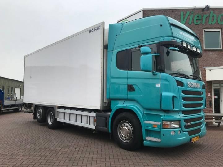 Scania R480 Lamberet Frigo Carrier Holland Truck Retarder - 2011