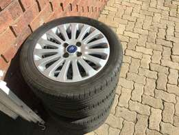 """16"""" rims and tyres for sale"""