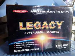 Automobile Battery: Legacy Super Motor Battery.