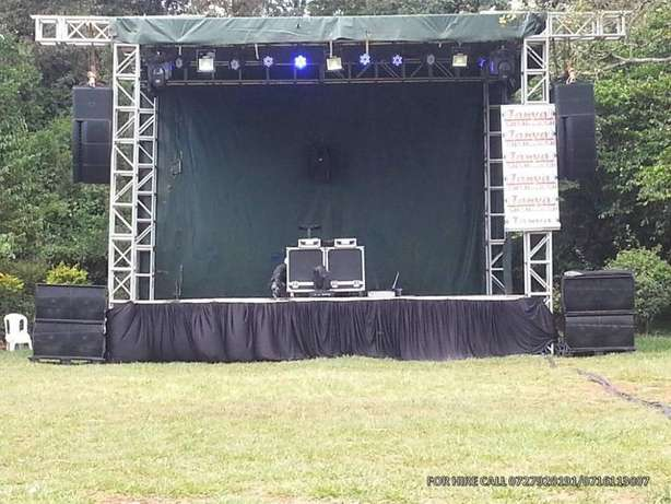 Public address, sound system,lights, led screens,stage & dj services Nairobi CBD - image 6
