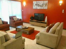 An executive 3 bedroom furnished apartment for rent in nyali.