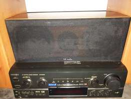 Kss Surround Sound System & Technics Amplifier