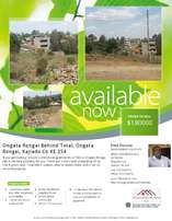 JUST LISTED 1/2 Acre plot at Ongata Rongai Town