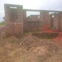 standard brand new uncompleted 3 flat for sale