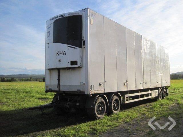 Närko 4HB13R62 4-axlar Box Trailer (chillers + side doors) - - 2011