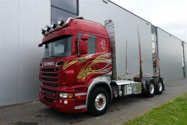 Scania R730 V8 6X4 HIGHLINE RETARDER EURO 5 - 2011