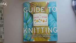 2 Knitting Books Excellent condition.