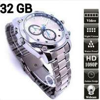 32gb spy camera waterproof watch with IR night vision