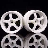 RC 1/10 Car On-Road Racing Flat Run White Drift Wheel Rim