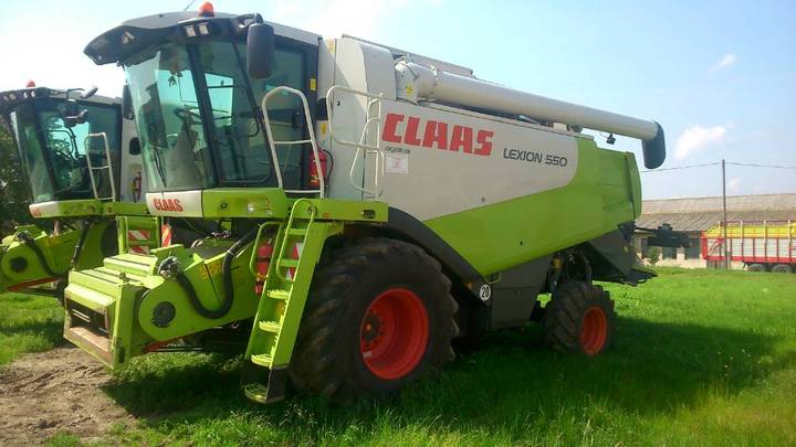 Claas Lexion 550 - 2010