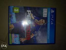 PES 2018 for PS4