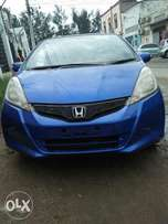 Honda Fit Blue colour fully loaded at a dealer price.