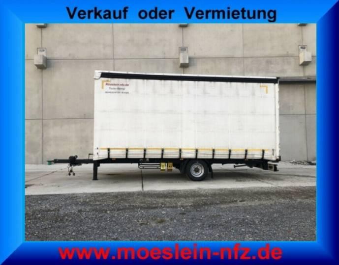 Möslein PR 1 A Schwebheim 1 Achs Planenanhänger - 2013