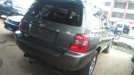 2007 model Toyota Highlander