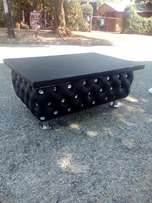 Buttoned Coffee Table For R600 ONLY
